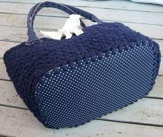 fettuccia bag - possible with t-shirt yarn?