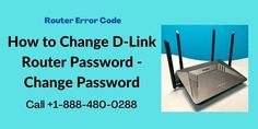 Are you not able to find the best solution to Change D-Link Router Password? Don't worry, This article helps you find the best guide for changing the password of the d-link router or you can also get in touch with our experts. Dial toll-free helpline number USA/CA: +1-888-480-0288. Fastest Internet Speed, Fast Internet, Forgot My Password, Best Router, Process Of Change, Error Code, Reset Button, Wireless Security