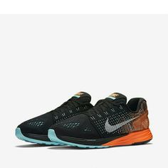 Nike wms lunarglide 7 New with box. Nike lunarglide 7 womens running shoes.  Size: 6.5 Color: black/copa/ hyper orange/ white Nike Shoes Athletic Shoes