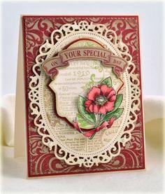 botanical medallions card | Found on justritestampers.typepad.com