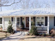 Front Porch Idea Hip & Valley roof.
