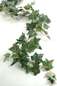 ivy garlands 6 foot green puff ivy silk ivy garland (127 leaves) $7.99 each / 6 for $7 each