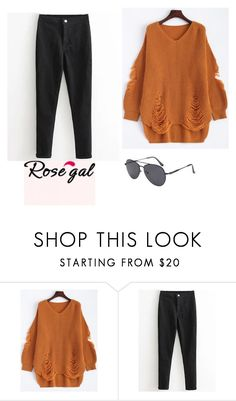 """""""Cool"""" by ahmetovic-mirzeta ❤ liked on Polyvore featuring cool and rosegal"""