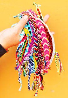 Cute Friendship Bracelets por lujzi en Etsy, $8.00