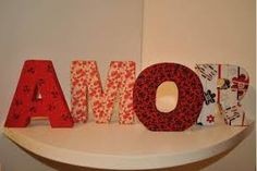 Resultado de imagem para letras feitas com lã