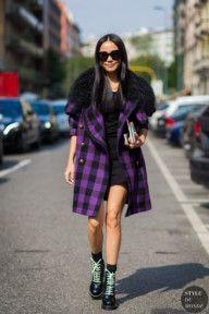 STYLE DU MONDE / Milan SS 2017 Street Style: Yoyo Cao  // #Fashion, #FashionBlog, #FashionBlogger, #Ootd, #OutfitOfTheDay, #StreetStyle, #Style