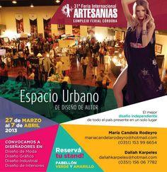 El extenso feriado de semana santa colmará de público la Feria Internacional de Artesanías