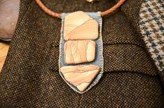 Red Rock Sandstone Necklace by Stacie Stacie Stacie, via Flickr