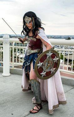 Wonder Woman, by Meagan-Marie.