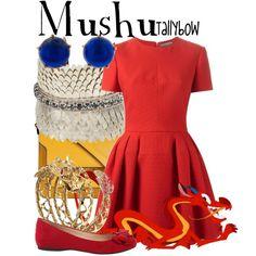 Mushu by tallybow on Polyvore featuring polyvore, moda, style, Alexander McQueen, Jessica Simpson, Marni, Deepa Gurnani and John Hardy