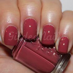 essie -raspberry red