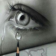 drawings sad 39 trendy Ideas for drawing sad eyes art 39 trendy Ideas for drawing sad eyes art Pencil Art Drawings, Art Drawings Sketches, Eye Drawings, Realistic Eye Drawing, Drawing Eyes, Crying Eye Drawing, Sad Eyes, Amazing Drawings, Eye Art