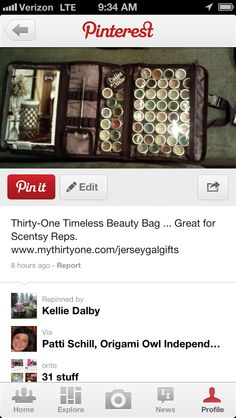 Have scentsy?!? This thirty one product is perfect for u! Www.mythirtyone.com/319781