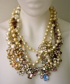 One of a Kind Custom Necklace - Made to Order  By Doloris Petunia