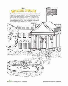 Worksheet: reading for information The White House