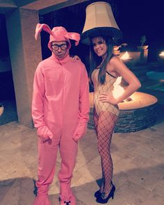 A Christmas Story costumes.  Halloween costume.  Couple costume ideas.