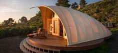The Cocoon will set you back around US$100,000, a luxury tent complete with a washroom and living quaters
