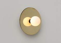Atelier Areti - Disc and sphere wall light