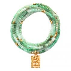 i love the beaded necklace.a classic piece you will own FOREVER and can wear with ANYTHING AND EVERYTHING. I would change out the buddha medal with a Virgin Mary medal. Cute Jewelry, Beaded Jewelry, Beaded Necklace, Beaded Bracelets, Necklaces, Jewellery, Spiritual Jewelry, Jewelry Trends, Diamond Jewelry