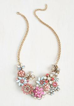 Vow to Wow Women Necklace in Pastels on Sale for $13.99. Fun colorful jewelry accessories.