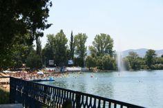 Glavno jezero, kupališni turizam