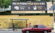 Pobres pagam mais impostos do que ricos no Estado de S.Paulo