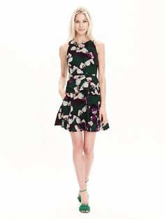 Floral Peplum Dress by Banana Republic. BR pick so not part of upcoming Friends & Family sale!