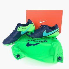 Nike Tiempo Legend VI FG Soccer Cleats Size 6 Coastal Blue 819177-443 New   988d5331306
