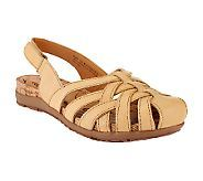 BareTraps Rumily Woven Leather Slingback Sandals Cost