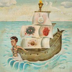 "Sergio Mora Magic painting ""Calm in the storm"""
