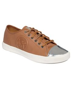 MICHAEL by Michael Kors Shoes, MK Charm Sneakers - Shoes - Macy's