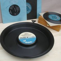 Vinyl Record Party Tray LP's