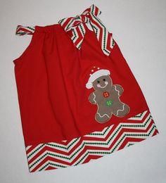 Vestidos de niño vestido de funda de almohada por BlakeandBailey