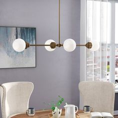Chandeliers Sale - Up to Off Until September 5 Light Chandelier, Sputnik Chandelier, Chandeliers, Modern Chandelier, Globe Lights, Wall Lights, Dining Room Lighting, Retro Chic, Home Office Design