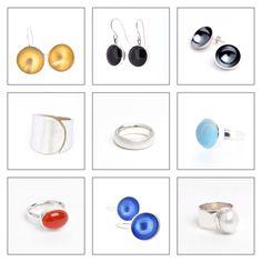 Selection of BAKKA jewelry from www.monicabakka.no