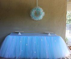 Congelados inspirado tabla falda decoración del por PiaMiaBoutique