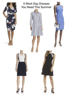 5 must have 9-to-5 dress styles. Click through to shop and read more about them!