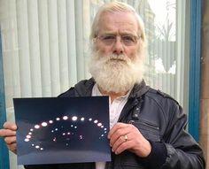 """Homem Registra Foto de UFO perto de sua casa em Perthshire, diz: Barulho de """"Mil Aspiradores"""""""