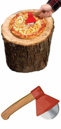 Ax Men Pizza Cutter // #fathersday #giftidea