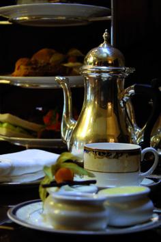 Tea at Hayfield Manor, Cork, Ireland