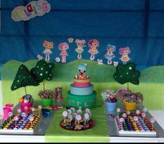 Lalaloopsy party decoration