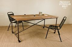 table industrial style