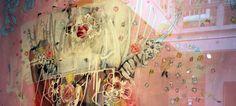 Antony Micallef: Collage? Peinture? L'art contemporain à la sauce année 2010: mixte, brouillon, métissé.