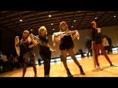 """2NE1 - """"I LOVE YOU"""" Dance Practice Video  as much as i love the mv... i love this even more."""