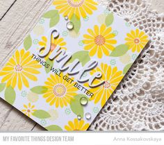 MFT July 2017 Card Kit Release — All Smiles @akossakovskaya @mftstamps #cardmaking #mftstamps