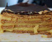 Encuentra las mejores recetas de tarta de galletas y crema pastelera de entre miles de recetas de cocina, escogidas de entre los mejores Blogs de Cocina.