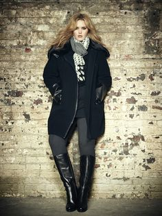boots, tall, fashion, wide calves, Addition Elle, plus size