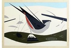 Tufted titmouse serigraph
