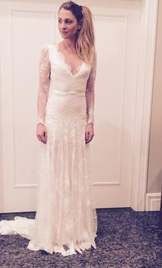 0187fa47ea61 Inbal Dror SLEEVES 6  buy this dress for a fraction of the salon price on