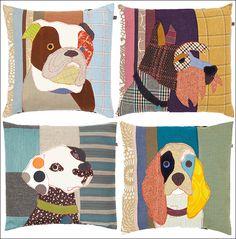 Carol Van Dyke's Puppy cushions